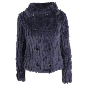 Marc By Marc Jacobs fur sweater jacket